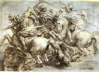 Battaglia di Anghiari (Leonardo) - Wikipedia