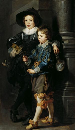 Nicolaas Rubens, Lord of Rameyen - Albert and Nicolaas Rubens, Lord of Rameyen.