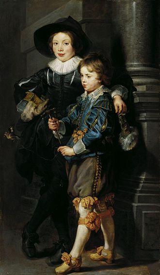 1627 in art - Image: Peter Paul Rubens Albert and Nicolaas Rubens WGA20372