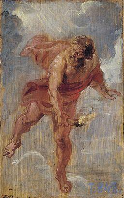Peter Paul Rubens - Prometheus, 1636