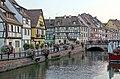 Petite Venise depuis le pont de la rue des Tanneurs (Colmar) (1).jpg