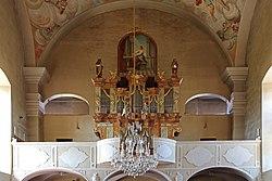 Pfarrkirche hl Ägydius in Arbesbach - Orgel.jpg