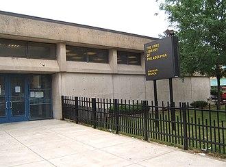Pennsport, Philadelphia - Whitman Branch of the Free Library of Philadelphia