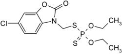 Struktur von Phosalon