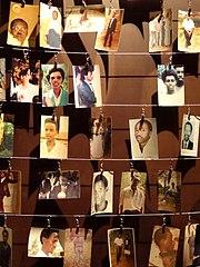 Photographs of Genocide Victims - Genocide Memorial Center - Kigali - Rwanda
