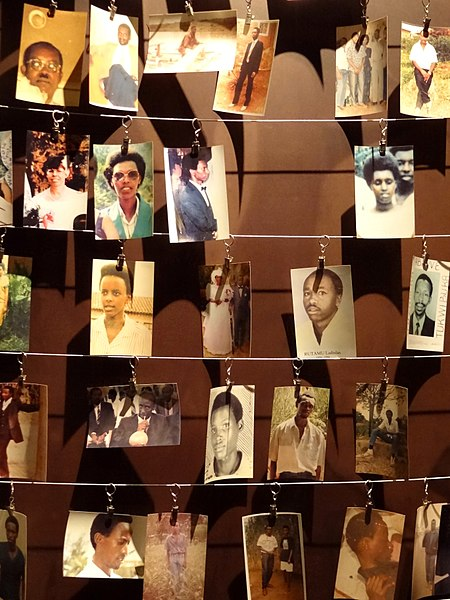 Photographs of Genocide Victims - Genocide Memorial Centre - Kigali - Rwanda