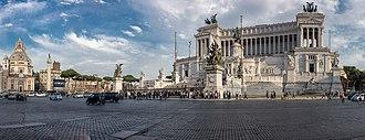 Altare della Patria - Image: Piazza Venezia, Towards Altare della Patria