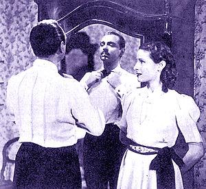 Mino Doro - Mino Doro and Bianca Doria in Piccolo hotel (1939)