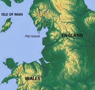 Piel Island - Location map