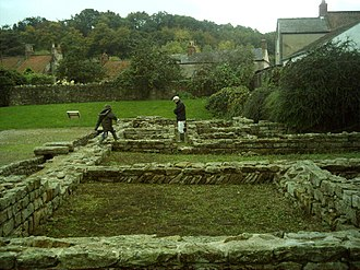 Piercebridge Roman Fort - Piercebridge Roman Fort looking south