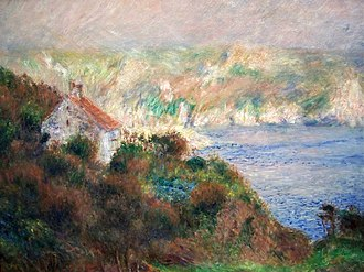 Lillie P. Bliss - Image: Pierre Auguste Renoir Brouillard à Guernsey