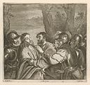 Pieter van Liesbetten after Bartolomeo Manfredi - Arrest of Christ SVK-SNG.G 11965-235.jpg