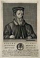 Pietro Andrea Mattioli. Line engraving by F. Allegrini, 1764 Wellcome V0003909.jpg