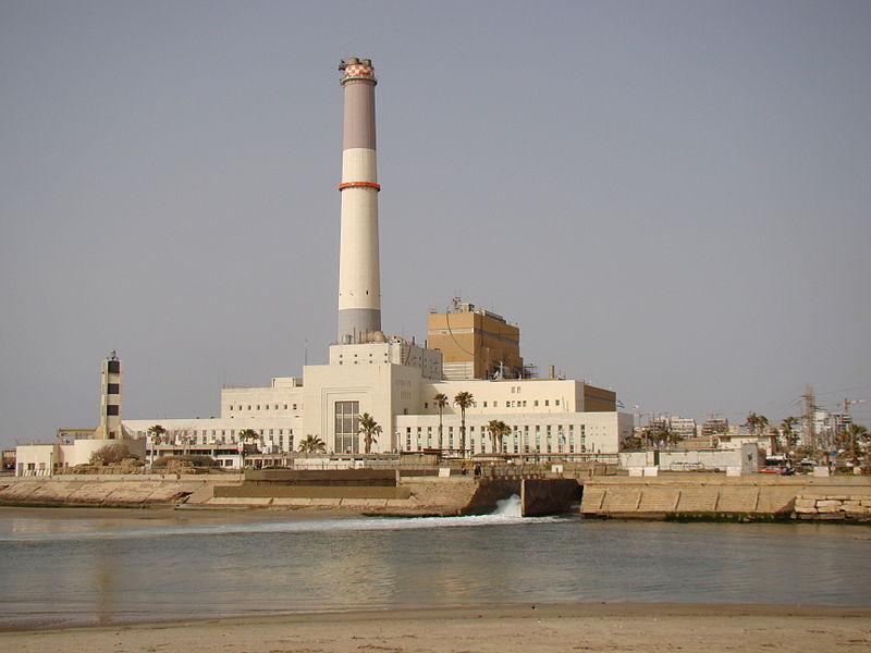 תחנת הכוח רידינג בתל-אביב