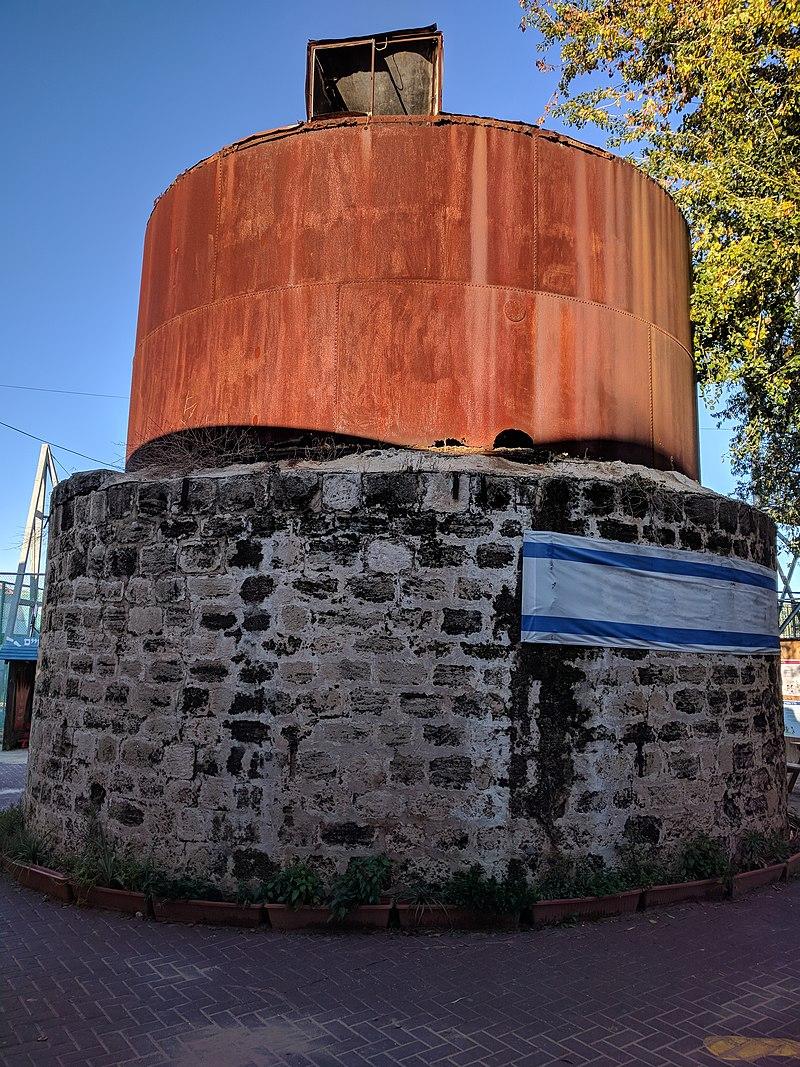 מגדל המים הראשון במזכרת בתיה