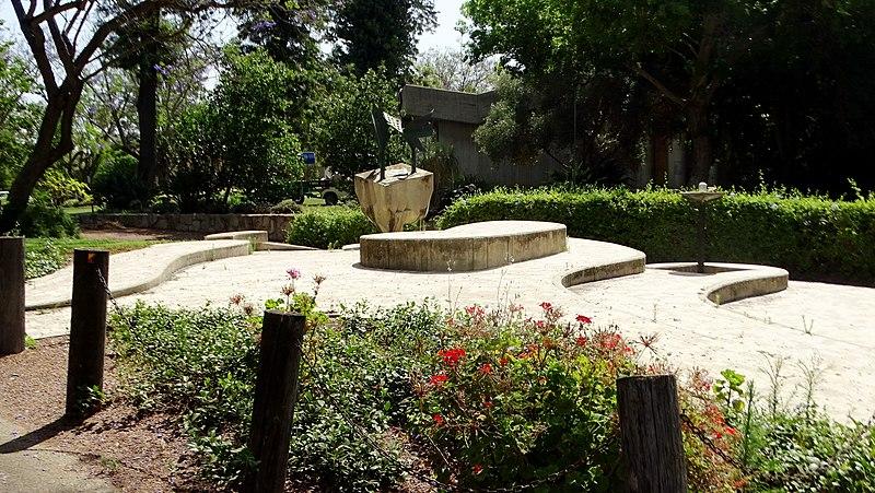 אנדרטה לנופלים בקיבוץ העוגן