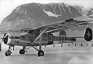 Pilatus SB-2 HB-AEP