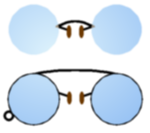 Pince nez oxford spectacles.png