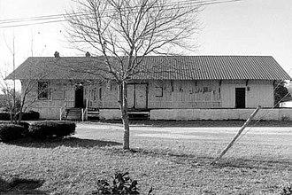 Pinewood Depot - Image: Pinewood Depot Facade