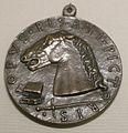 Pisanello, medaglia di francesco I sforza, 1441 o 1442.JPG