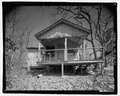Pisgah National Forest Inn, Chinquapin Cabin, Blue Ridge Parkway Milepost 408.6, Asheville, Buncombe County, NC HABS NC-356-E-1.tif