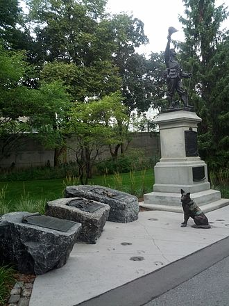 Military animal - Monuments for military animals in Ottawa.
