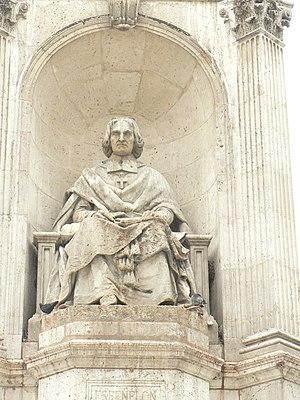 Fontaine Saint-Sulpice - Image: Place St Sulpice 3