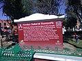 Plaque in Zocalo de Huamantla.jpg
