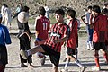 Playing soccer on a sunny, peaceful day in Kabul (4445088069).jpg