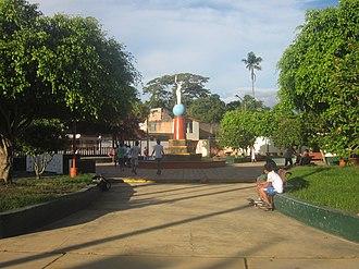 Moyobamba - Image: Plazuela Libertad en Moyobamba