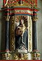 Pluméliau (56) Chapelle Saint-Nicodème Retable de N.D. de Lorette 02.JPG