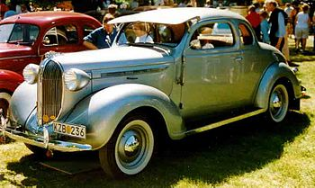 Plymouth Business Model P5 Business Coupé 1938