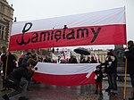 Początek marszu na Rynku Głównym (8721304584).jpg