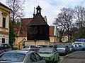 Pod Vyšehradem, kostel svatého Michala se zvonicí (02).jpg