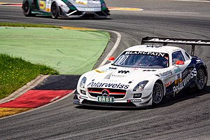 Polarweiss Racing MercedesBenz Sachsenring2013.jpg