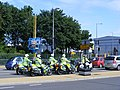 Police - olympic escort. five police motorcycle outriders (7620825600).jpg