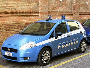 Law enforcement in Italy - State Police Fiat Grande Punto