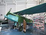 Polikarpov R-5 at Central Air Force Museum Monino pic1.JPG