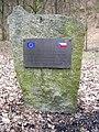 Pomník obnovy silnice pod hradem Zbořený Kostelec.jpg