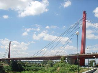 Indiano Bridge bridge in Florence, Italy