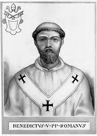 Pope Benedict V - Image: Pope Benedict V Illustration