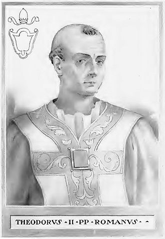 Pope Theodore II - Image: Pope Theodore II Illustration