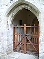 Porch, St Nicholas Church, Fisherton de la Mere - geograph.org.uk - 949258.jpg