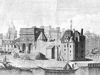 Château de la Tournelle - Image: Porte Saint Bernard