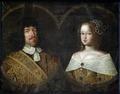 Porträtt, Frederik III och Sofia Amalia - Skoklosters slott - 85014.tif