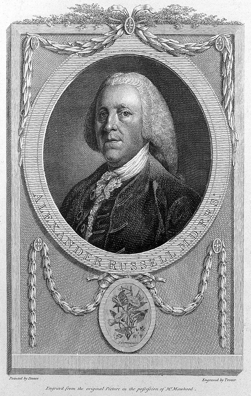 Portrait of Alexander Russell by T. Trotter Wellcome L0011163.jpg