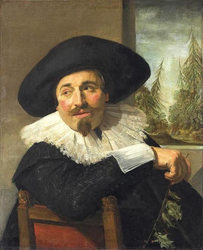 Frans Hals: Portrait of Isaak Abrahamsz. Massa