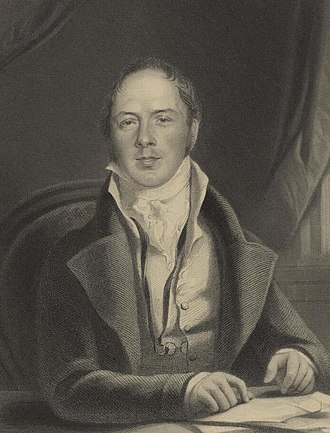 Matthew Lewis (writer) - Engraving of Lewis in later life, by William Holl