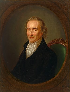 Thomas Paine - Portrait by Laurent Dabos (c. 1792)