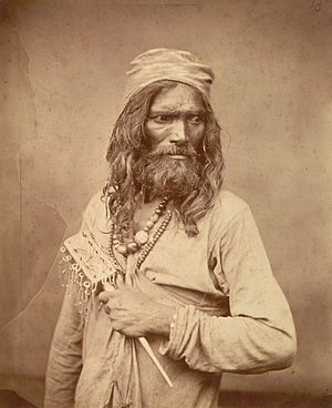 Asceticism - A Sufi Muslim ascetic (fakir) in Bengal in the 1860s.